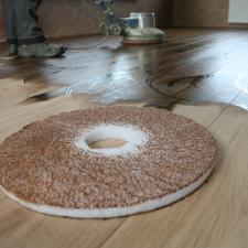 Beitsen van een houten vloer