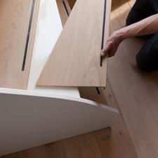 Kies voor kwaliteit met houten traprenovatie van van for Dikte traptreden hout