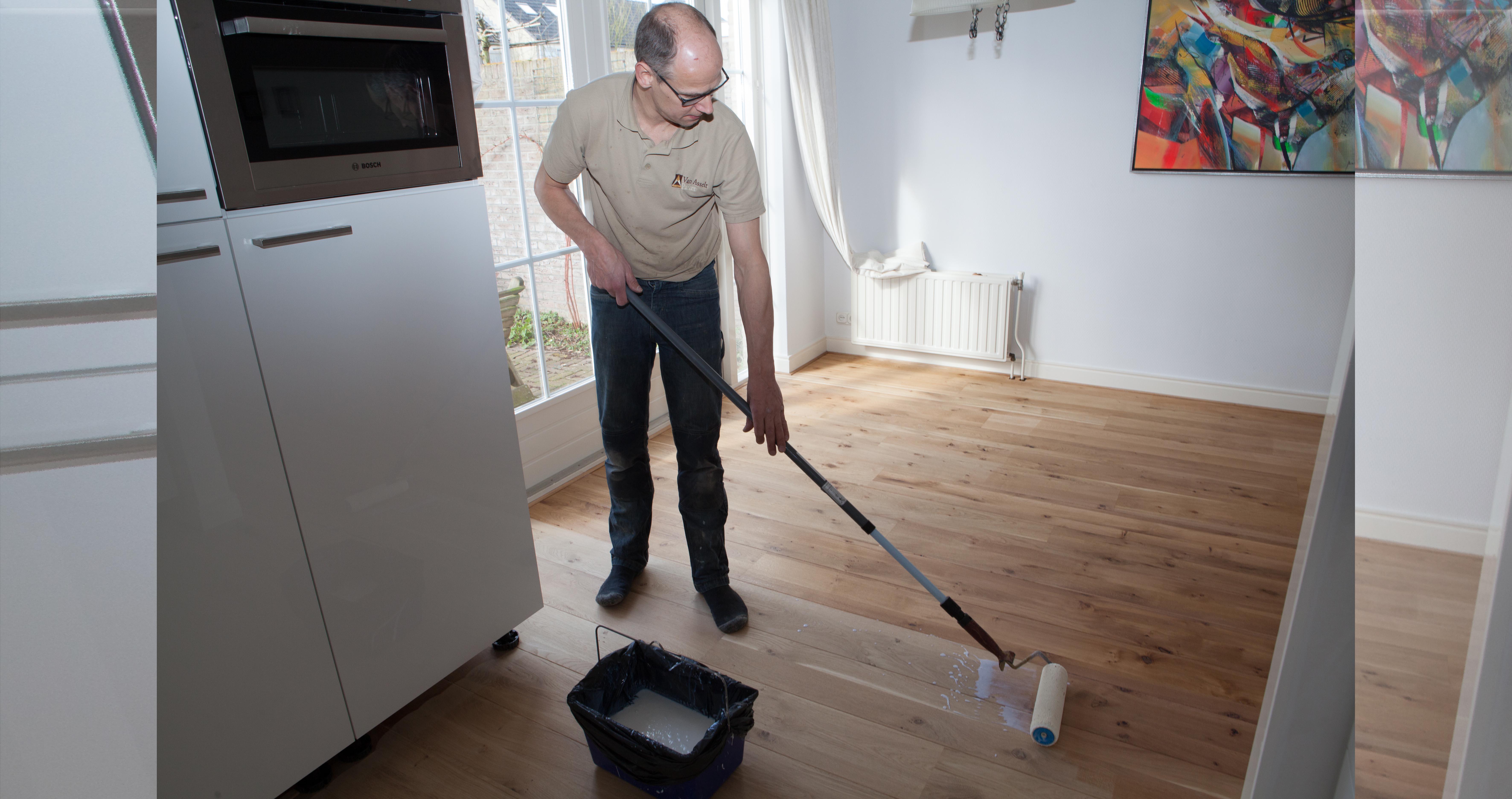 Onbehandelde Houten Vloer : Op zoek naar een houten vloer met onbehandelde uitstraling van