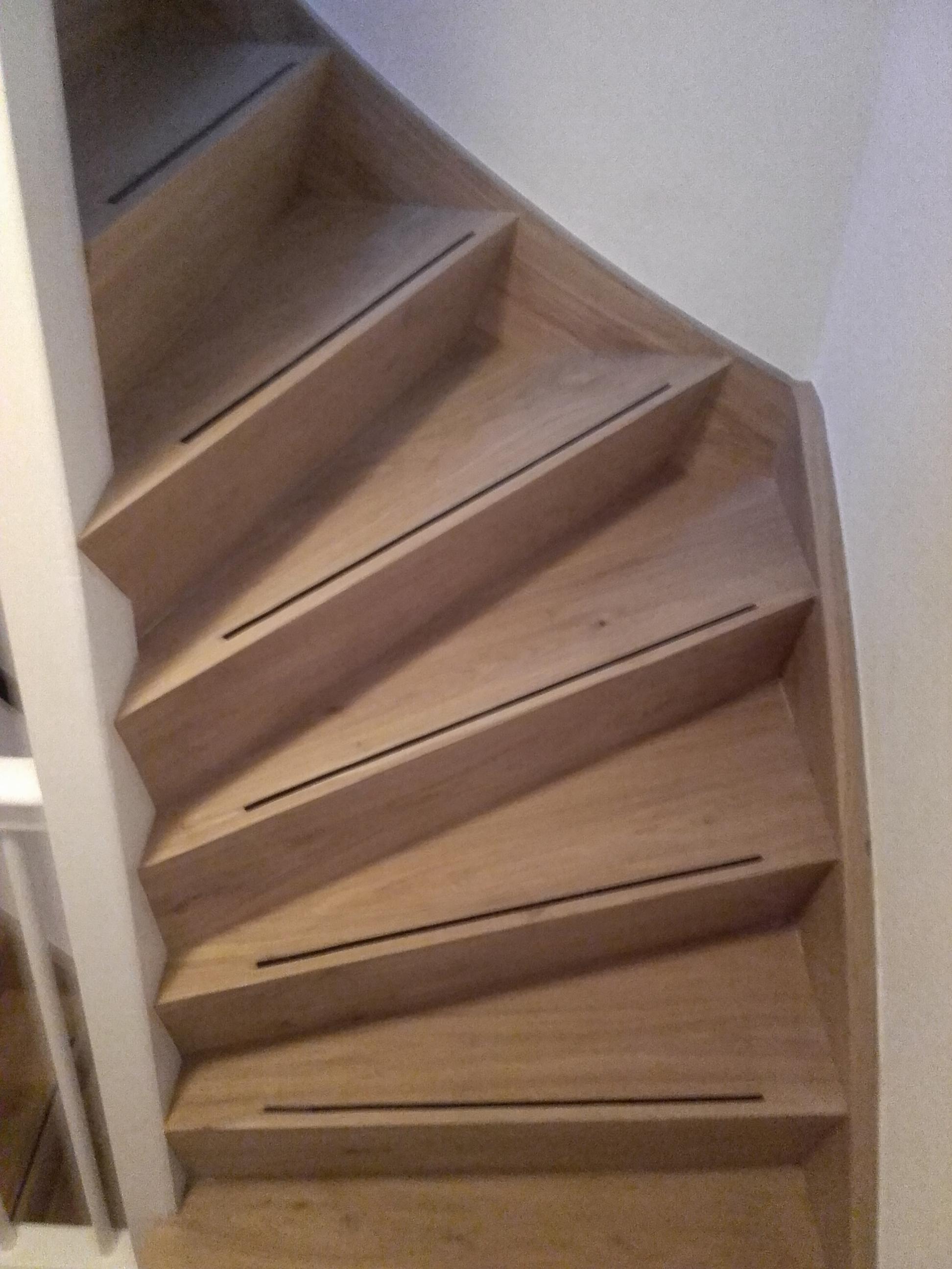 Nieuwe trap traprenovatie
