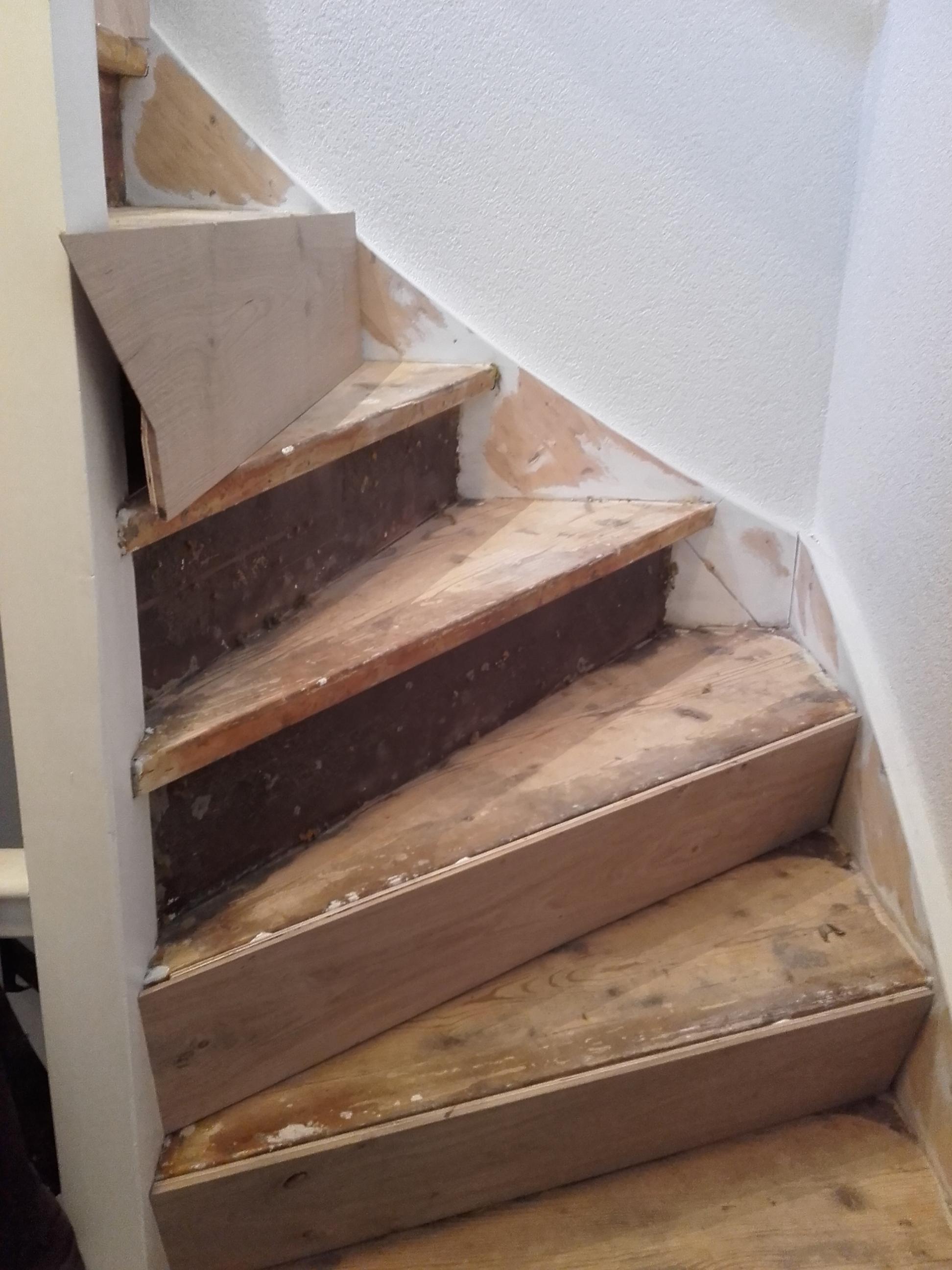 Oude trap traprenovatie